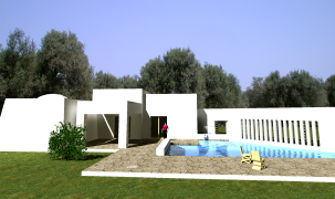 Our Masseria is a traditional flat-roofed Puglia's farmhouses on one level with pool and built around a courtyard. We are building, in our landscape Salento Puglia, new Masserie style houses close to old ones left to restore. Our project is a custom-built masseria in its own acres olive grove.. You have 21st- century standards but the house is built of local stone in traditional style, using techniques passed down through the generations