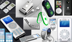 Main mobile phones in the market: Nokia Corporation currently is the world's largest manufacturer of mobile telephones, with a global device market share of approximately 36% in Q1 of 2007. Other mobile phone manufacturers include Apple Inc., Audiovox (now UT Starcom), Benefon, BenQ - Siemens, High Tech Computer Corporation (HTC), Fujitsu, Kyocera, LG Mobile, Mitsubishi, Motorola, NEC, Neonode, Panasonic (Matsushita Electric), Pantech Curitel, Philips, Research In Motion, Sagem, Samsung, Sanyo, Sharp, Siemens, Sierra Wireless, SK Teletech, Sonim Technologies, Sony Ericsson, T&A Alcatel,Toshiba, and Verizon.